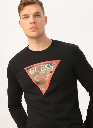 Guess Sweatshirt Siyah